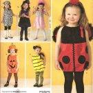 Simplicity 2304 Toddler Costume -  Lady Bug, Bee, Pumpkin, Dog, Witch or Princess Toddler