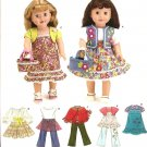 Simplicity 3936 Craft Pattern for 18in Dolls Clothes.