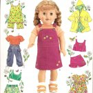 "Simplicity 4654 Craft Pattern for 18"" Dolls Clothes"