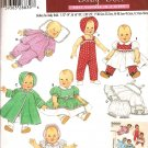 Simplicity 4707 Craft Doll Clothes Pattern for dolls 12 in to 22 inches