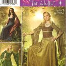 Simplicity 4940 Sewing Pattern for Medieval Costumes sz 10,12,14,16,18