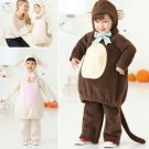 SIMPLICITY 2068 TODDLERS COSTUME- lamb and monkey