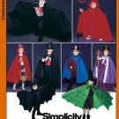 SIMPLICITY 5927 CHILD'S  COSTUME- CAPE, ROBE AND HEADPEICES