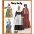 SIMPLICITY 3723 MISSES COSTUME- 18TH CENTURY  Puritan Colonial