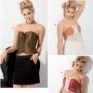 SIMPLICITY 2355 SEWING PATTERN FOR MISSES CORSETS SIZE 6-12