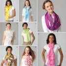 SIMPLICITY 2170  MISSES'  SCARVES