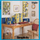 SIMPLICITY 9750 PATTERN FOR HOME ORGANIZERS