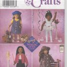 "SIMPLICITY 8541 18"" Doll Clothes"