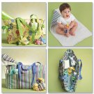 Butterick B5005 Diaper Bag, Changing Pad and Pacifier Case