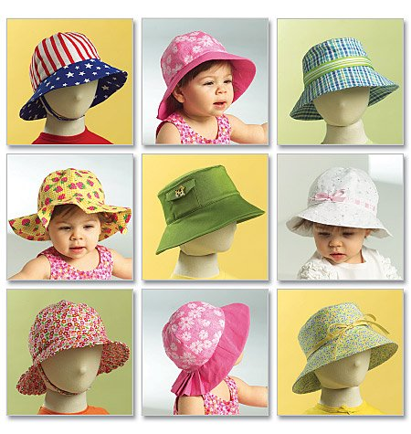 BUTTERICK B5056   Infants'/Toddlers' Hats