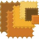 Spellbinders Nestabilities Lrg Classic Inverted Scalloped Square Die Template S4-196