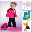 MCCALLS M4896 CRAFT PATTERN- 18 inch DOLL CLOTHES