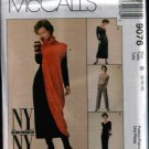 MCCALLS 9076 SEWING PATTERN FOR MISSES' DRESSES, TOP TUNIC & PANTS