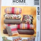 MCCALLS 4124 HOME DECORATING  PATTERN
