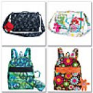 MCCALLS M6176 Backpack, Bag, Case in 3 Sizes and Charm