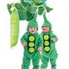 McCALLS M6627 INFANT'S COSTUMES - PEA, CHILI PEPPER, STRAWBERRY, PUMPKIN  SIZE NB - 18 MOS