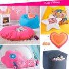 SIMPLICITY 5105 Teen Room -Ottoman, Bean Bag Chair, Floor Pillow, Heart Pillow + more