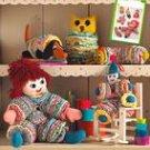 SIMPLICITY 2708 VINTAGE YO YO TOYS; Doll, Clown, Owl, Caterpillar & dog