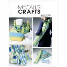MCCALLS M6372 Quilt, Cushion In 3 Sizes, Mat Carrier, Basket In 2 Sizes and Neck Roll
