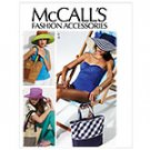 MCCALLS  M6577 MISSES' HATS & TOTES