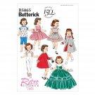 "BUTTERICK B5865 18"" (46cm) RETRO Doll Clothes"
