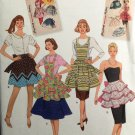 Simplicity 2592 SEWING PATTERN FOR MISSES APRONS S, M, L