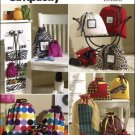 SIMPLICITY 2667 SEWING PATTERN FOR ORGANIZERS & BAGS