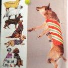 SIMPLICITY 1578 LARGE SIZE DOG CLOTHS