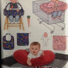 Simplicity 4225 Baby Accessories: Pillow Cover, Quilt, Bunny, Seat Covers, Doll, Bib and Carrot