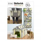 Butterick B5867 Pattern for Toy, Organizer, House, Mat and Carry Bag