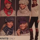 Simplicity J0207 HATS & SCARF, BOOT TOPPER & HEADBAND...HAT IN THREE SIZES