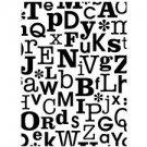Darice Embossing Folder Essentials-ABC's Background 1218-70