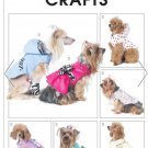 MCCALLS M6218 CRAFT SEWING PATTERN FOR PET CLOTHES  FOR SM, MED & LRG DOGS