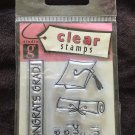 Studio G Clear Stamps 1 package - CONGRATS GRAD!