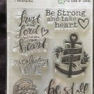American Crafts Clear Stamps 1 package - Bible Journaling