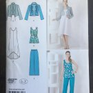 "Simplicity 1621 Sewing Pattern for Misses"" Dress or Tunic, Pants &  Jacket SZ xxs-xxl"