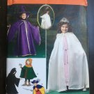 SIMPLICITY 1304 COSTUME FOR CHILD'S CAPES, TABARD & HATS SZ 3-8