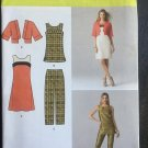 Simplicity 1665 Pattern for Misses' Dress or Tunic, Jacket & Slim Pants SZ 6-14