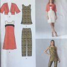 Simplicity 1665 Pattern for Misses' Dress or Tunic, Jacket & Slim Pants SZ 14 - 22