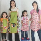 SIMPLICITY 1707 SEWING PATTERN FOR CHILDS' & MISSES' APRONS