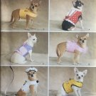 SIMPLICITY 2393 SEWING PATTERN FOR DOG CLOTHES - JACKETS
