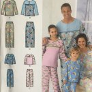 SIMPLICITY 2481 CHILD'S, TEENS' AND ADULTS' PANTS & TOP