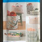 SIMPLICITY 8107 SEWING PATTERN FOR HOME ORGANIZERS