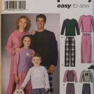 SIMPLICITY 5271 CHILD'S, TEENS' & ADULTS' PANTS, CAP, TOP & PET BED
