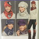 Simplicity 8036 Sewing Pattern for Misses' Hats in 3 Sizes