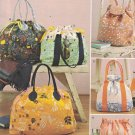 Simplicity 8037 Craft Sewing Pattern for Backpack, Totes and Cosmetic Bag