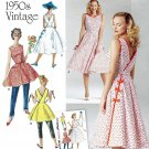 Simplicity 8085 Pattern for Misses' Wrap Dress In Two Lengths SZ 6-14
