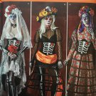 SIMPLICITY 1033 SEWING PATTERN FOR DAY OF THE DEAD COSTUMES,  SIZE 14 - 22
