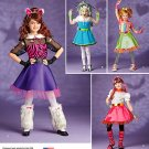 Simplicity 1350 Sewing pattern for Girls' Whimsical costumes SZ 7-14