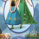 Simplicity 1094 Sewing Pattern For Disney Frozen Anna & Elsa Misses' Costumes Sz 6-14